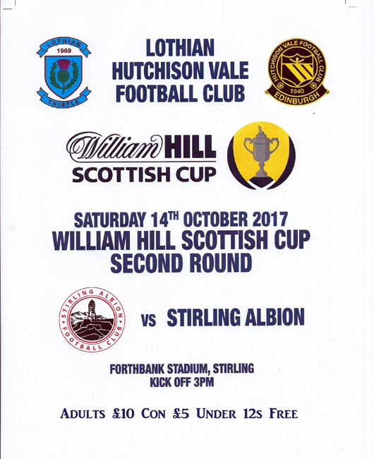 LHV scottish cup vs Sirling 14 oct 2017 FOR WEB